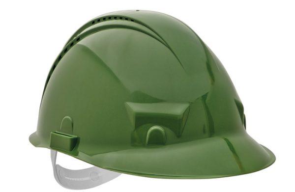 PALADIO sisak szellőzővel – zöld, szabvány EN397 PALADIO-ZEL