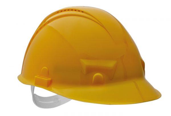 PALADIO sisak szellőzővel – sárga, szabvány EN397 PALADIO-ZLU