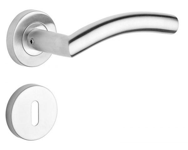 ROSTEX – rozsdamentes acél ajtókilincs PALERMO – kivitel PZ
