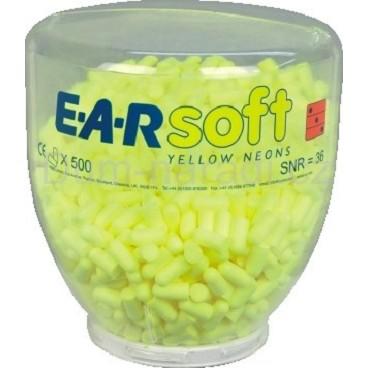 E.A.R. Soft yellow neons eldobható füldugó adagoló buborék 500 pár PD-01-002