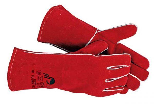 Pugnax RED – egész bőr hegesztőkesztyű – méret 10 PUGNAX RED
