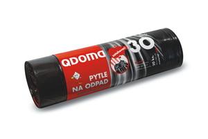 Szemeteszsák LDPE behúzós 30 l / 20 db, 50×60 cm Q005
