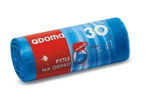 Szemeteszsák HDPE 30l / 36 db, 50×60 cm – kék Q008