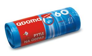 Szemeteszsák HDPE 60l / 28 db, 60×70 cm – kék Q009