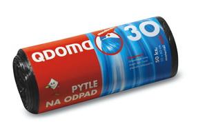 Szemeteszsák HDPE 60l / 28 db, 60×70 cm – fekete Q022