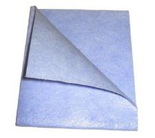 Univerzális törlőkendő 33×38 cm, 90 g, kék – nem csomagolt Q037