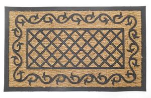 PRECIS – lábtörlő 45×75 cm, kókusz + gumi, téglalap R6010