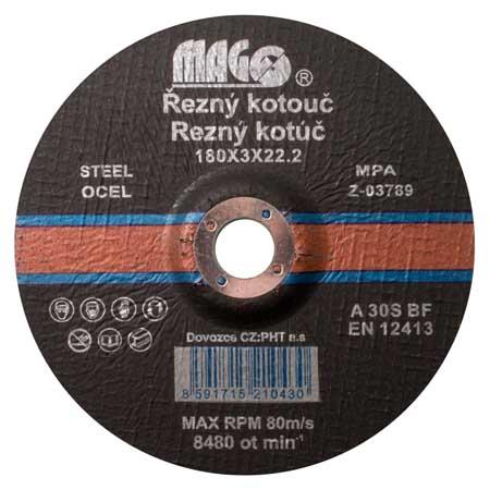 Vágókorong fémhez 180×3,0x22,2 mm RK18030