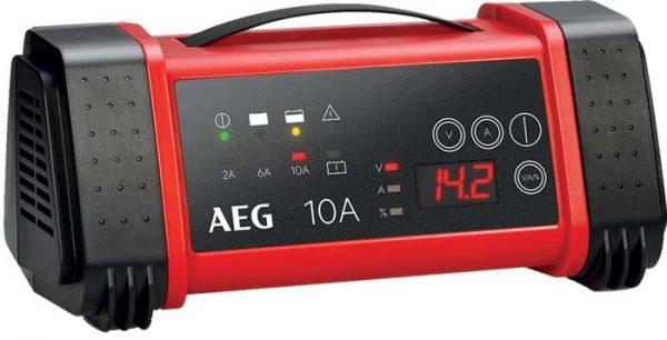 AEG – mikroprocesszoros akkumulátor töltő 10A, 12/24V, LT10 SA-97024