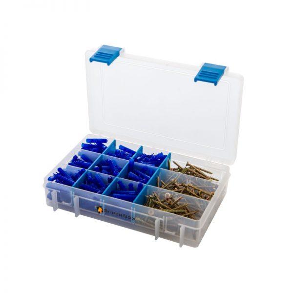 Szuper Box kötőelem készlet, 5 mm-es furat átmérőhöz 23012