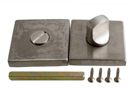 WC ajtózár – szögletes SD001