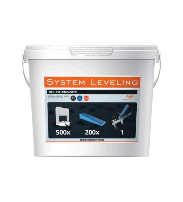 Burkolólap szintező rendszer induló szintező készlet lapszintező szett 500/200/1 SL5601