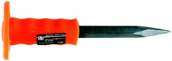 Hegyesvéső 250 mm, kézvédővel STSEKSP250CH
