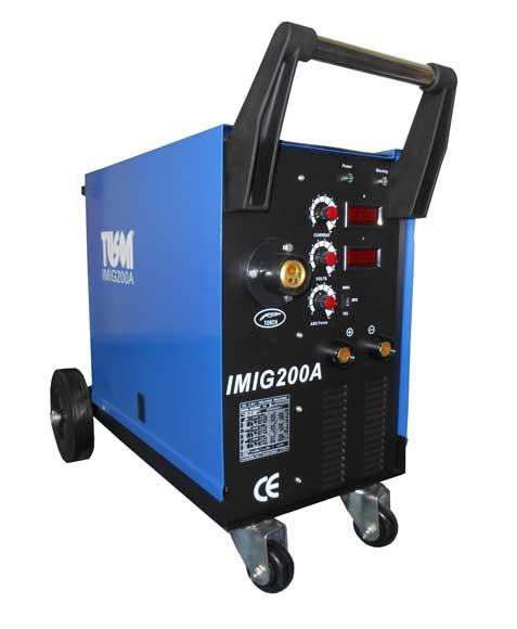 TUSON félautomata hegesztő ívhegesztő hegesztő inverter MA, MIG / MAG, TIG 5,5 kW 200 A SV20 SV200-A