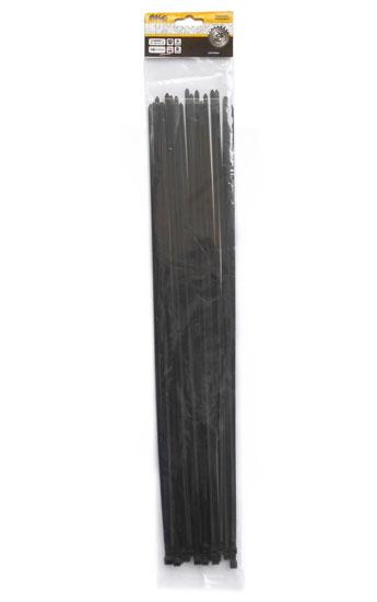 Kábelkötegelő 4,8×500 mm, fekete – 25 db TS48500C