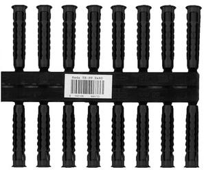 Univerzális tipli TX-PP 8×40, készlet 2×10 db fekete TX-PP08X40