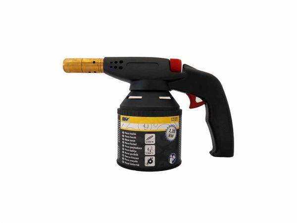 Magg gázforrasztó gázégő forrasztópisztoly gázlámpa piezo 2.25 kW UTPZ225