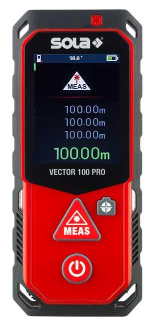 SOLA lézeres távolságmérő távolság mérő 100 m-ig 71023101