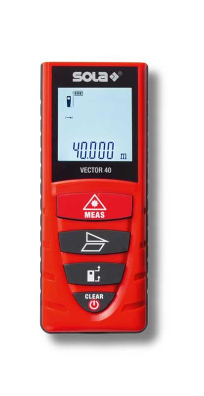 SOLA – Vector 40 – Lézeres távolságmérők 40m