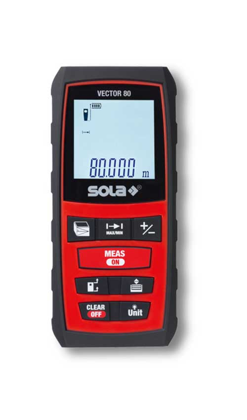 SOLA – Vector 80 – Lézeres távolságmérők 80m