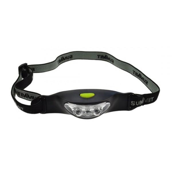 Solight LED fejlámpa, 3 x LED, fekete-szürke, 2 x CR2032 WH17