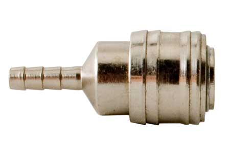 Tömlő gyorscsatlakozó levegő pneumatikus csatlakozó 6 mm lány WJ007614