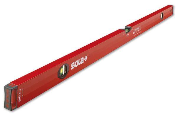 SOLA – Big X 3 80 – Zártszelvény-vízmértékek 80cm 01373101