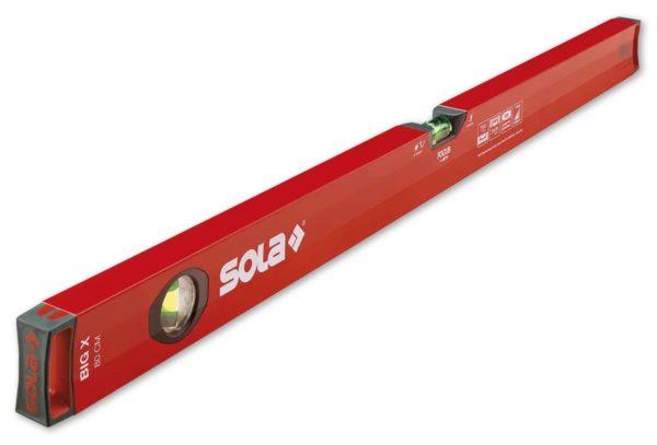 SOLA – Big X 40 – Zártszelvény-vízmértékek 40cm 01370501