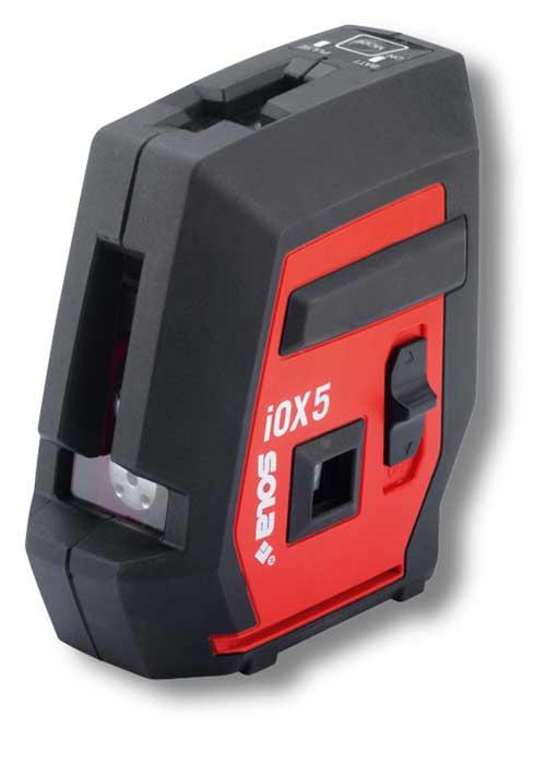 SOLA iOX5 BASIC vonal és pont lézer önbeálló szintező 71016701