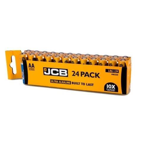 JCB OXI DIGITAL alkalikus elem LR06, shrink 24 db JCB-LR06OXI-24S