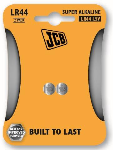 JCB alkalikus elem LR44, 2 db/csomag JCB-LR44-2B