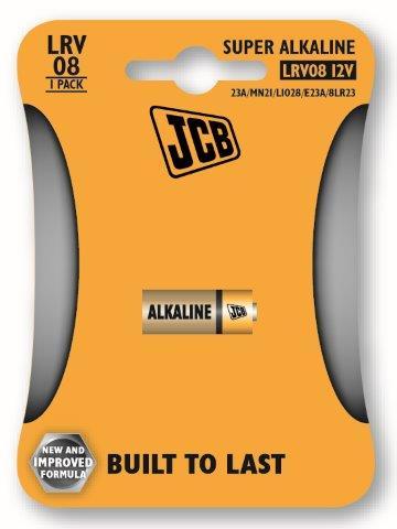 JCB alkalikus elem LR08/12V, 1 db/csomag JCB-LRV08-1B