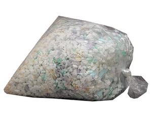 Színes sarált habszivacs, osztályozott 1 kg ML1000