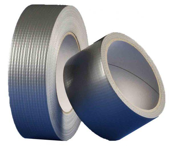 Den Braven – univerzális textil szalag 25mm x 25m – ezüst B796TE