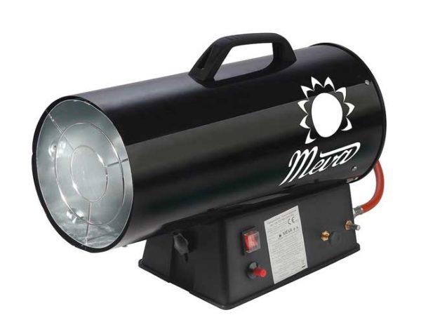 MEVA PB gázüzemű hőlégbefúvó hőlégfúvó hősugárzó 9-30kW DN TP17002A