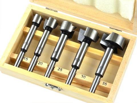 Geko fenékfúró forstnerfúró pánthelymaró készlet 15-35mm 5db G01214