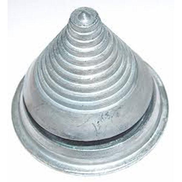 Fűnyírókés kiegyensúlyozó mérőkúp fém 9.5-35mm egyensúlyozó 03-06037