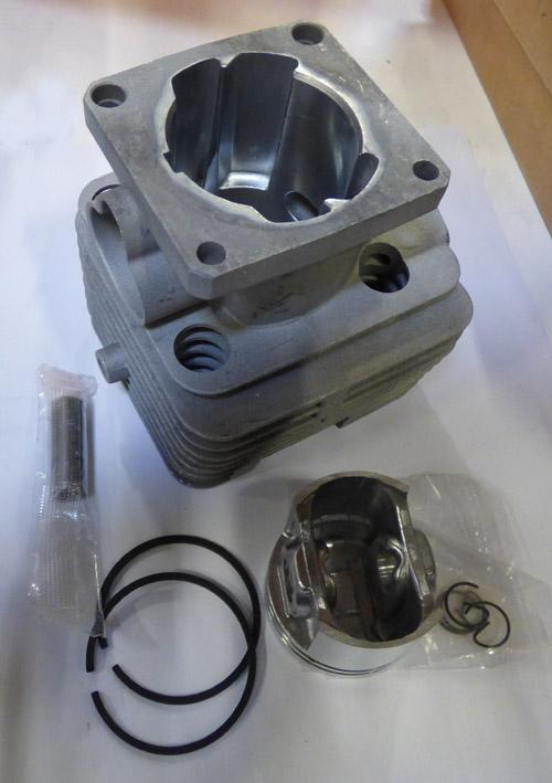 HENGER KOMPLETT STIHL STIHL FS250 40mmdugattyú átmérő  40mm gyűrű vastagsága  1,5mm (2szt.) 07-04038