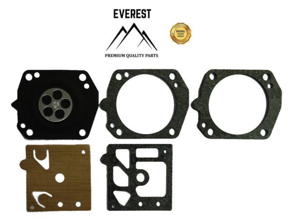 Karburátor javító membrán tömítés készlet komplett Walbro D24-HDA Husqvarna 357XP 359XP 10-40016
