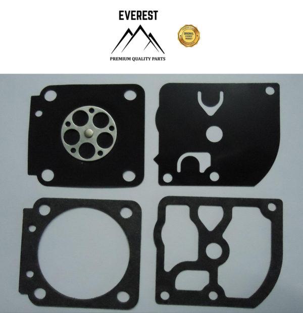 Láncfűrész karburátor javító membrán tömítés készlet GND-28 Stihl FS75 FS85 FS108 FS106 10-42002
