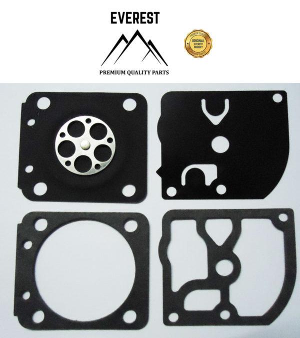 Karburátor javító membrán tömítés készlet komplett Zama GND-50 STIHL FS45 FS46 FS80 FS85 10-42005