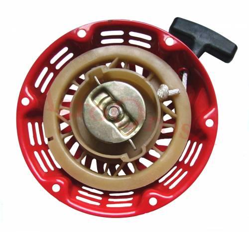 Aggregátor benzinmotor berántó indító HONDA GX110 GX160 fém lapos körmökkel 175mm 08-02011