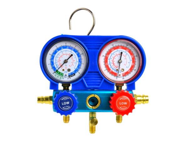 GEKO hűtőgáz klíma mérő készlet G02670