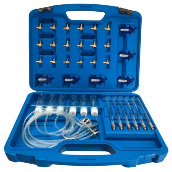 Verke résolaj veszteség mérő diagnosztikai készlet adapterekkel V86260