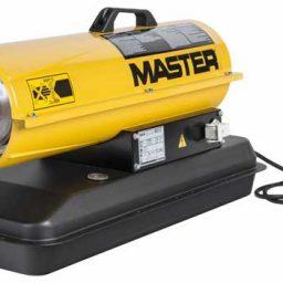 Master gázolajos hőlégfúvó hősugárzó hőlégbefúvó 20 kW B70CED