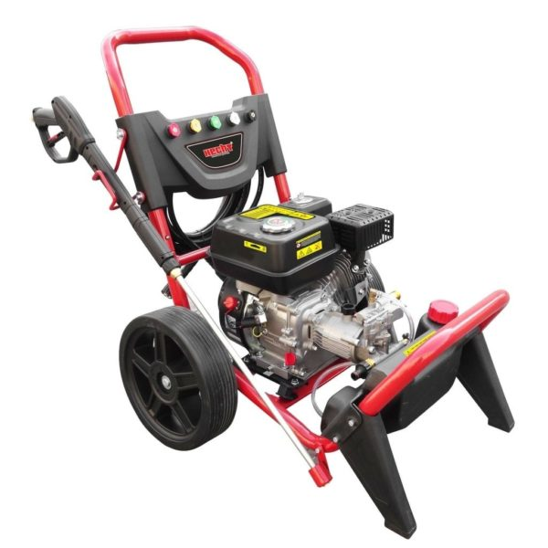 HECHT3228 benzinmotoros magasnyomású mosó 4 ütemű sterimo 5.6 Le 220 Bar
