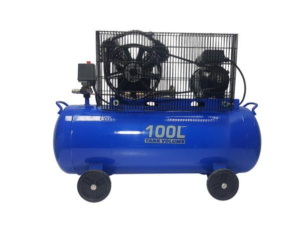 Ripper 100 literes 2 hengeres V motoros olajos kompresszor 8 BAR 400L M80673A