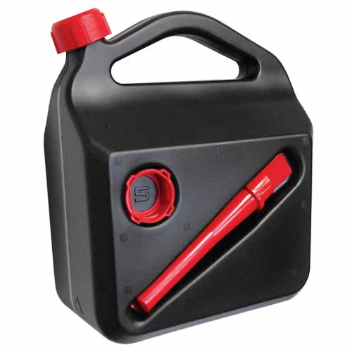 MAGG műanyag üzemanyag kanna benzines kanna tölcsérrel és kupakkal 10L 120251