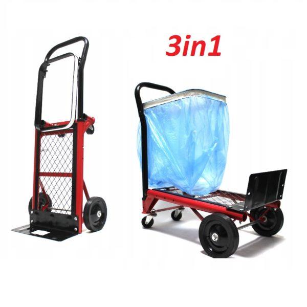 Átalakítható molnárkocsi raktárkocsi szállítókocsi szállító kocsi szemetes kocsi REA2513