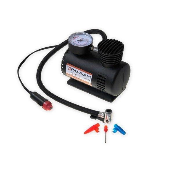 Dedra Kompresszor automobilhoz, 12V 250PSI 11l/min, tömlő 0,5cm A040300